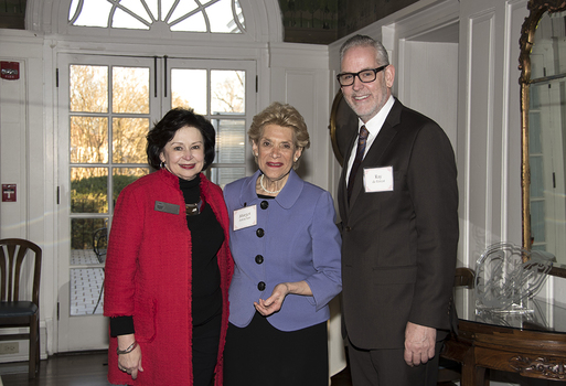 Dean Boschung, Margot Astrachan, and Ray DeForest
