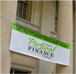Banner for the National Personal Finance Challenge